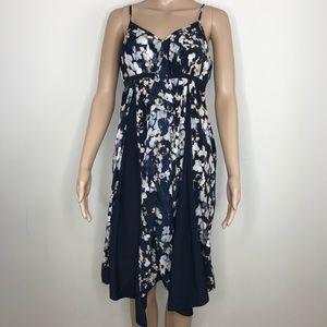 SimplyVera Vera Wang spaghetti strap floral dress